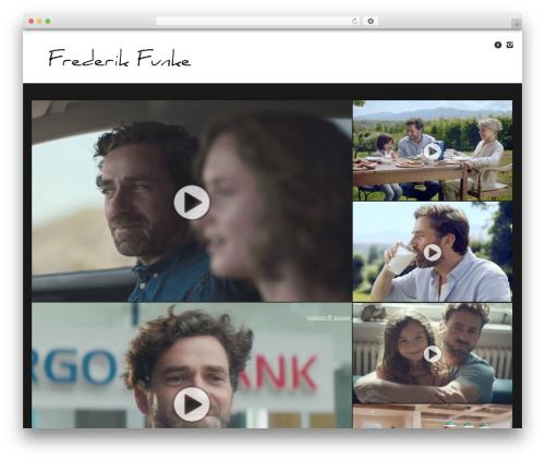 WordPress template Studiofolio - frederik-funke.de