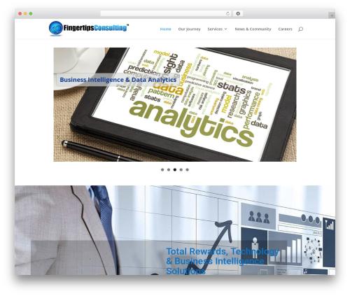 WordPress theme Divi - fingertipsconsulting.com