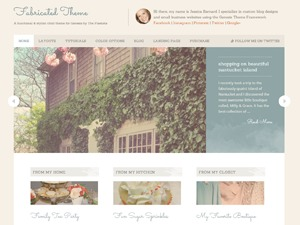WP template Fabricated Child Theme