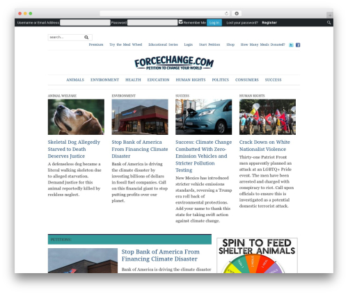 WP template Yamidoo Magazine - forcechange.com