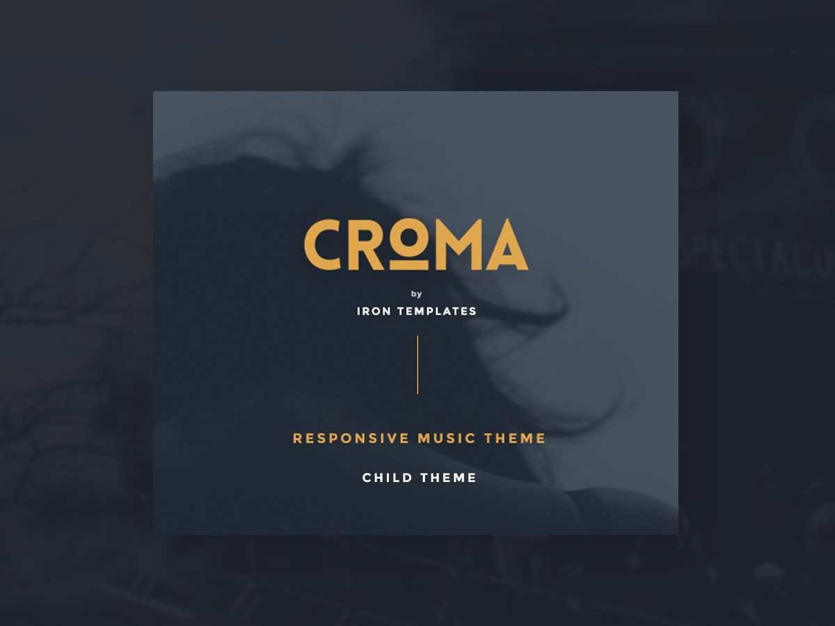 WP theme CROMA Child - Ultimate Creative WP Theme