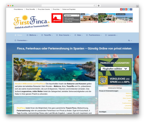 WP theme Rehub theme - firstfinca.de