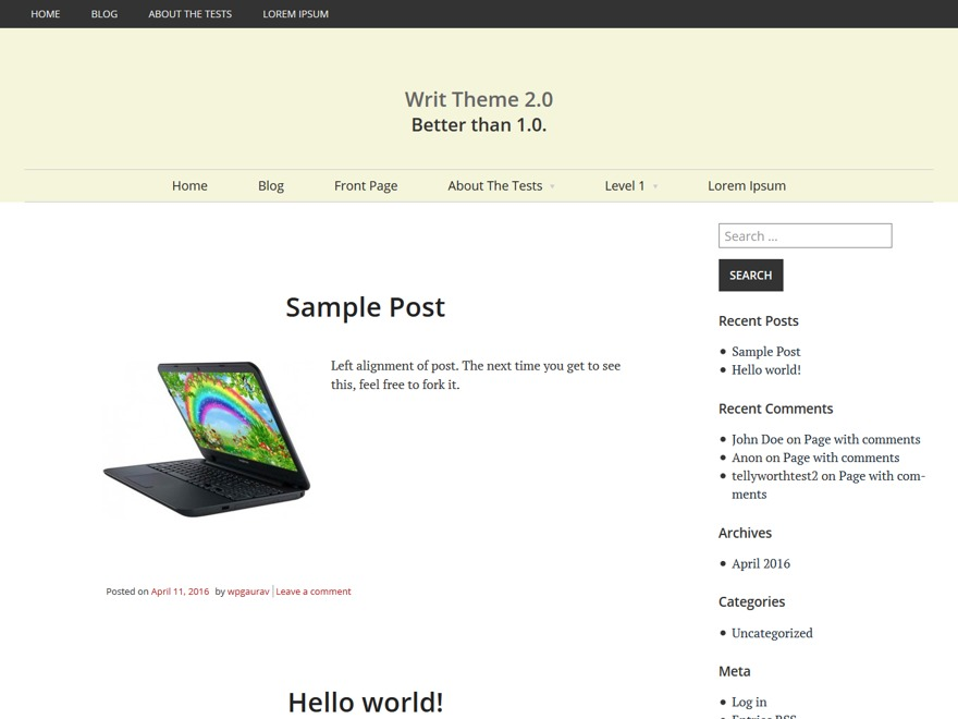 Writ best WordPress gallery