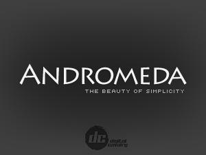 Andromeda theme WordPress portfolio