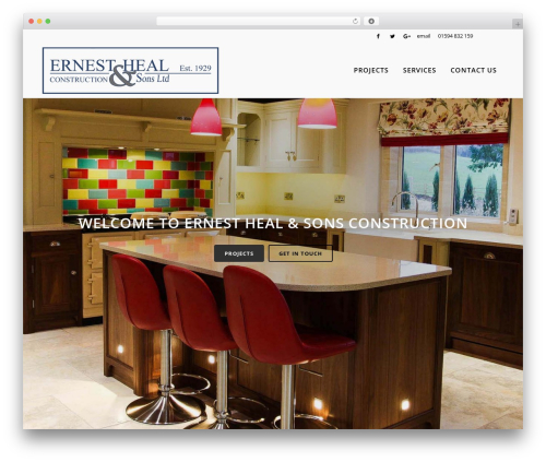 Bridge business WordPress theme - ehsconstruction.co.uk