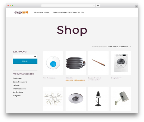 Theme WordPress Shopkeeper - kingtheme.net - energymarkt.be