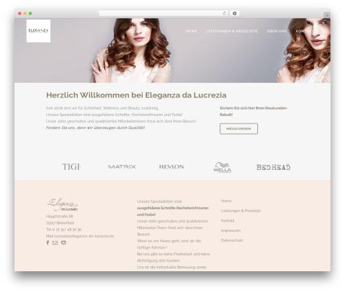 Best WordPress template Bridge - eleganza-da-lucrezia.de