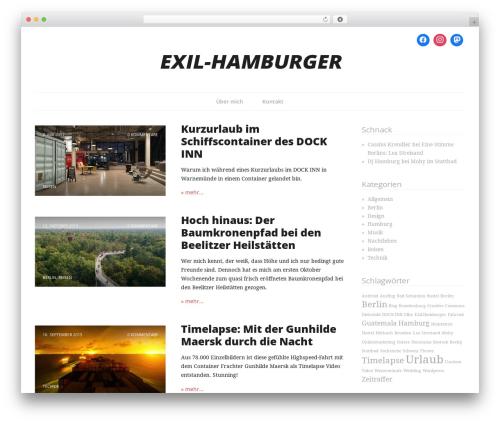 Branches WordPress theme free download - exil-hamburger.de