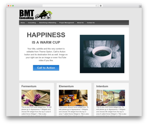 Responsive best free WordPress theme - blackmountaintradersconsulting.com