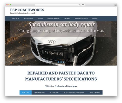 FlatOn template WordPress free - espcoachworks.com