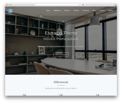 Parallel Pro WordPress template - espacopleno.com.br
