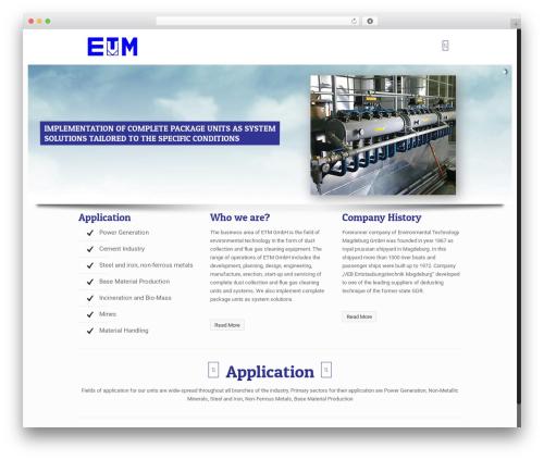 Betheme best WordPress theme - etmi.in