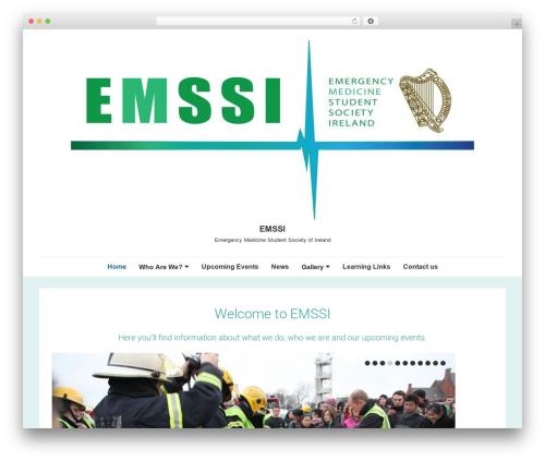 Responsive WordPress template free download - emssi.ie