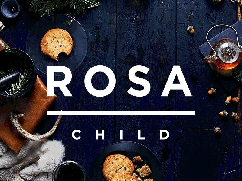 Rosa Child WordPress restaurant theme