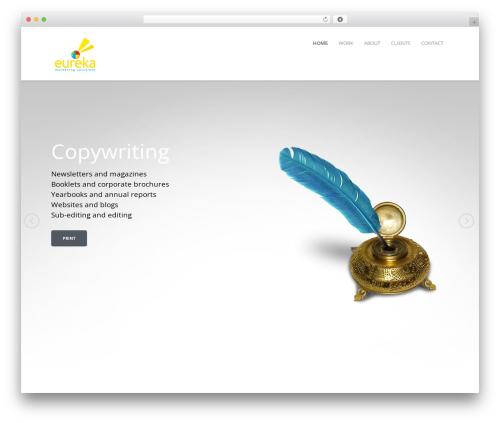 WordPress theme Mineral - eureka-marketing.co.uk