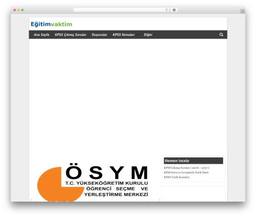 WordPress theme WPT ProLife - egitimvaktim.com