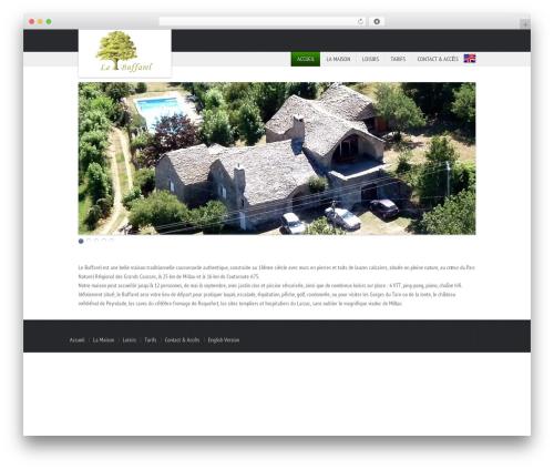 WP theme ParadiseHotel - buffarel.com