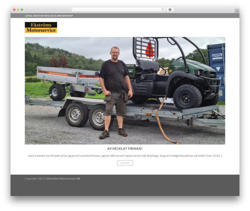 Flatsome best WordPress template - ekstromsmotorservice.se