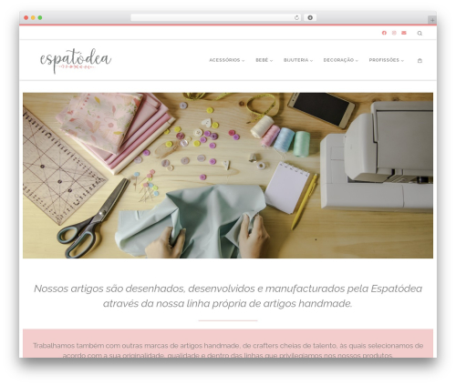 Theme WordPress Customizr - espatodea.pt