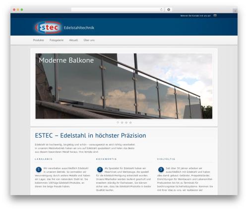 Theme WordPress Modular - es-tec.at