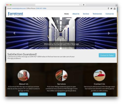 Ajusta theme WordPress - earntrustministorage.com