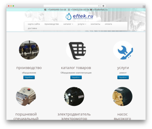 Customizr free WordPress theme - eftek.ru