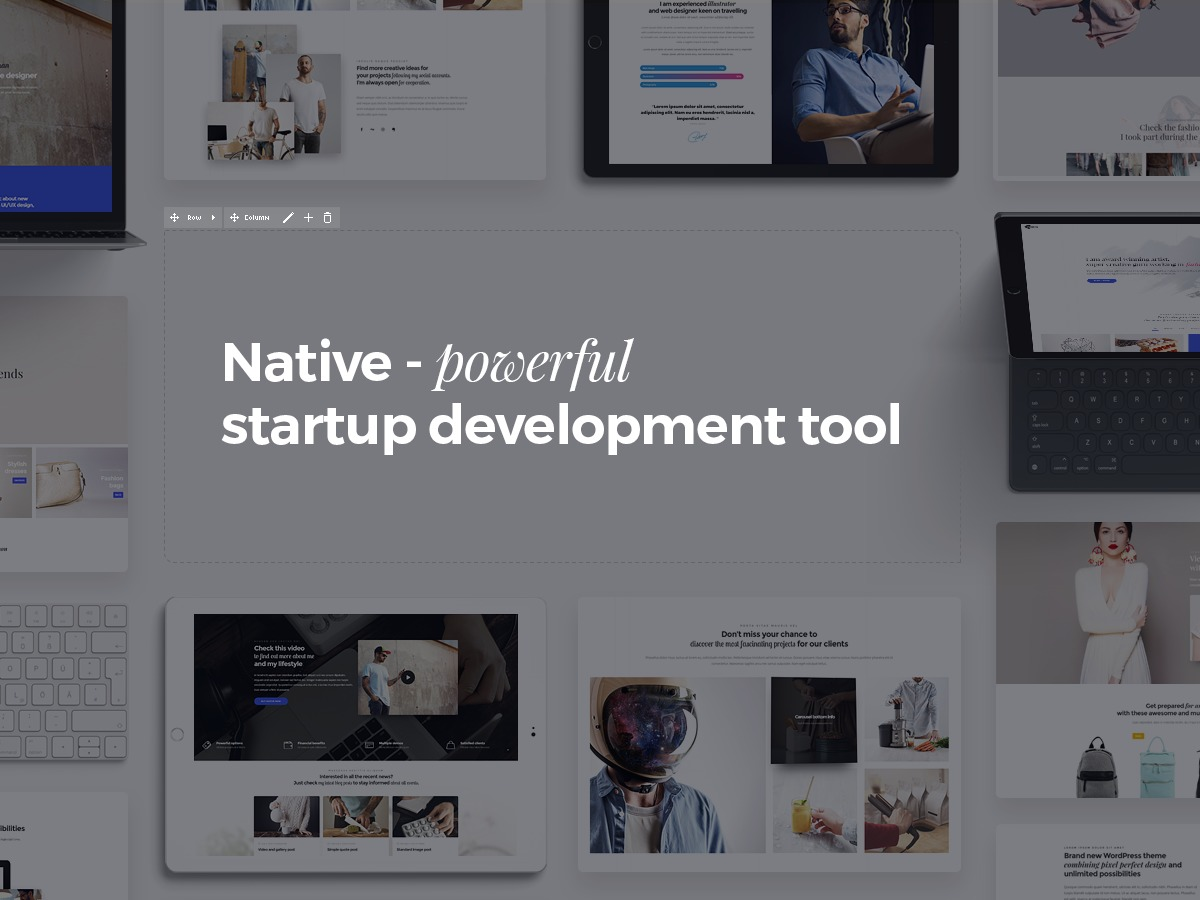 DFD Native top WordPress theme
