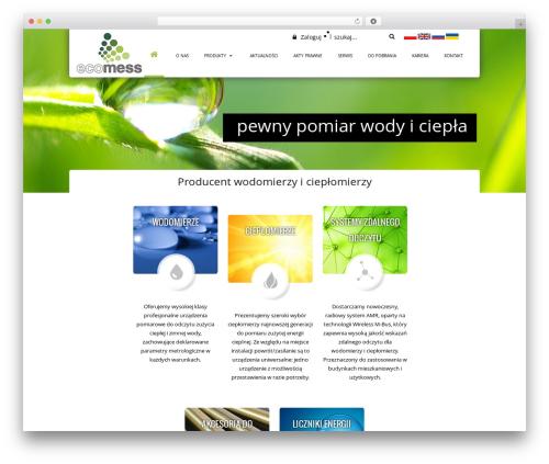 Real Property WordPress theme design - ecomess.pl