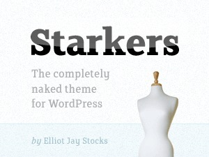 Starkers top WordPress theme