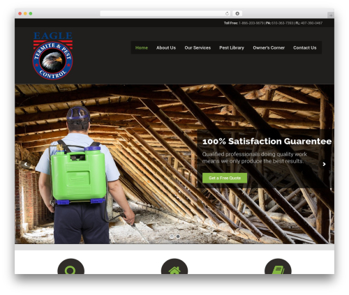 Worker top WordPress theme - eagletermitepest.com