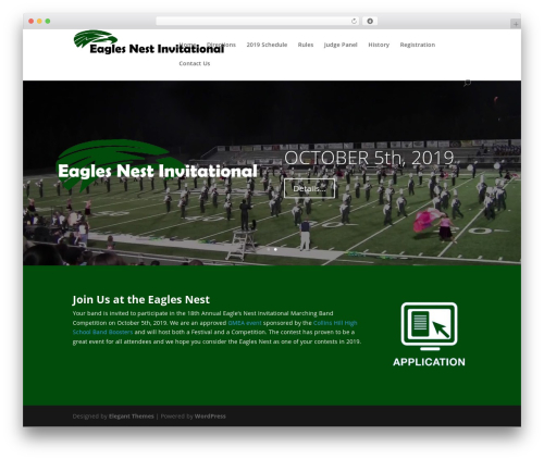 Divi WP template - eaglesnestinvitational.com