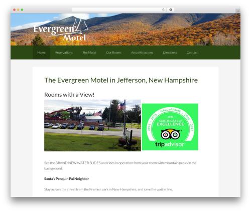 Genesis top WordPress theme - evergreenmotelnh.com