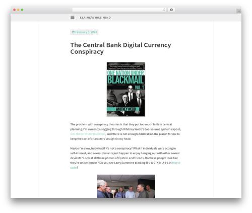 Isola WordPress free download - elaineou.com