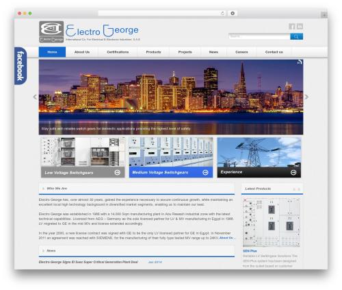 Free WordPress Smooth Scroll Up plugin - electrogeorge.com