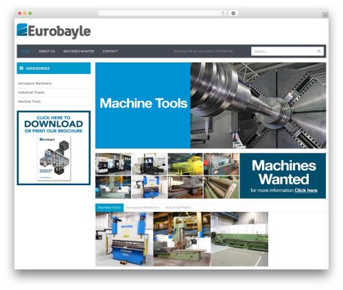 WPO Shopping WordPress shop theme - eurobayle.com
