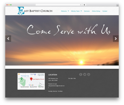 Best WordPress theme Peacemaker - eastbaptist.org