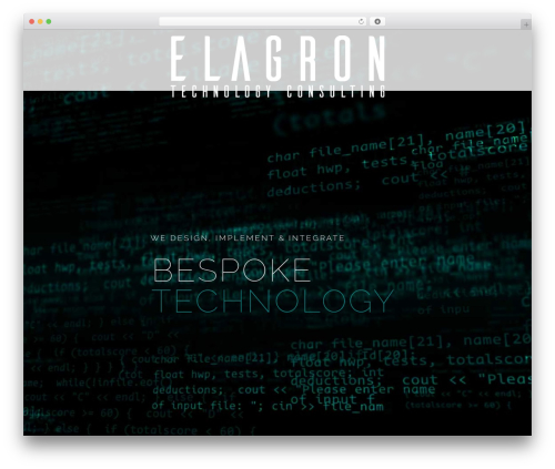 Betheme top WordPress theme - elagron.com
