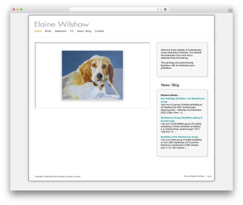 Free WordPress Cookies for Comments plugin - elainewilshaw.com