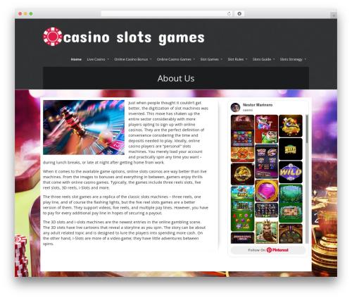DutchStartingUp template WordPress - casinoslotsgames.co.uk
