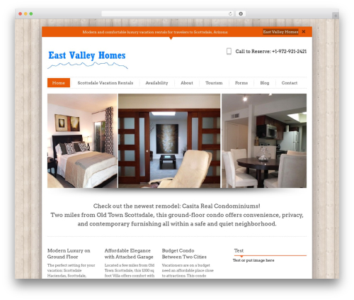 InfoWay WordPress template free download - evalleyhomes.net