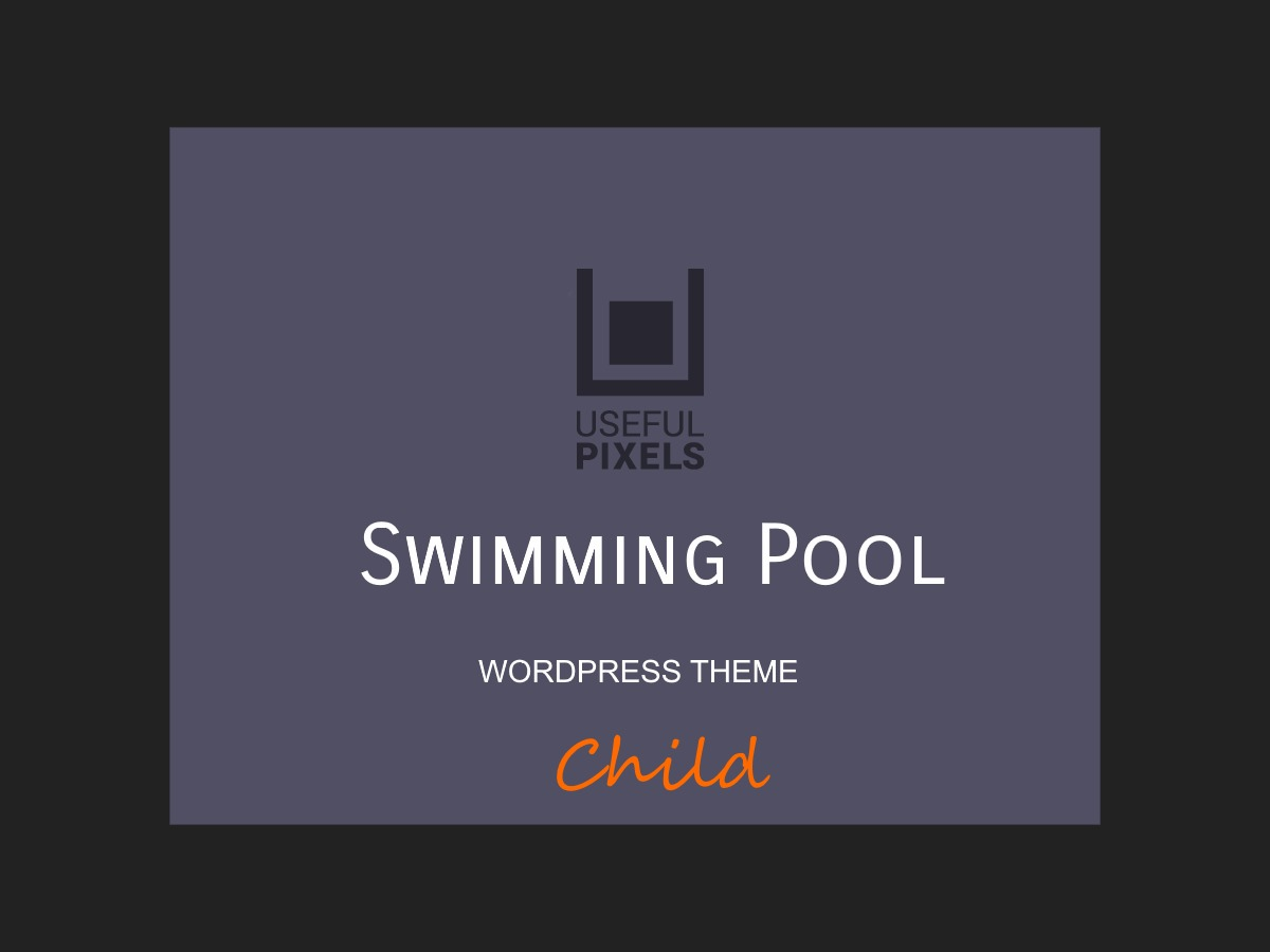 SwimmingPool Child WordPress theme