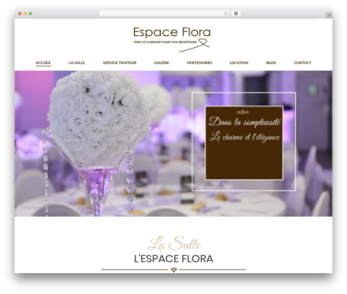 The7 WP theme - espaceflora.com