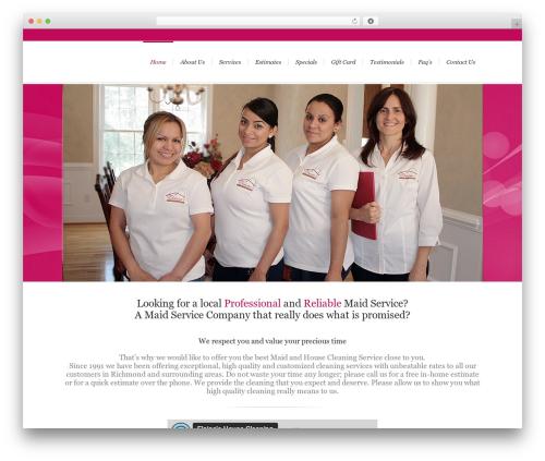 WP theme Lounge - elaineshousecleaning.com