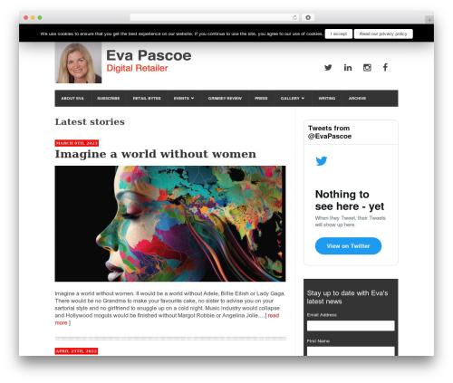 Best WordPress theme UrbanNews - evapascoe.com