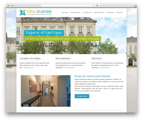 INOVADO WordPress theme - espace-atlantique.fr