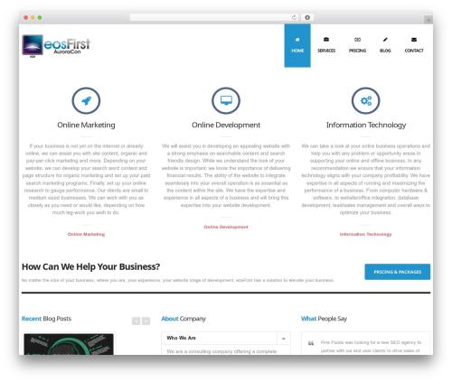 Nuzi WordPress theme design by ThemeWaves ...