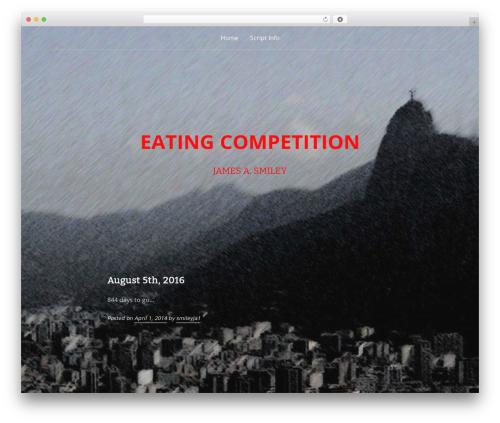 Padhang template WordPress - eatingcompetitionmovie.com