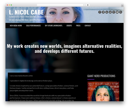 Rock N Rolla WordPress theme - el-nicol.com