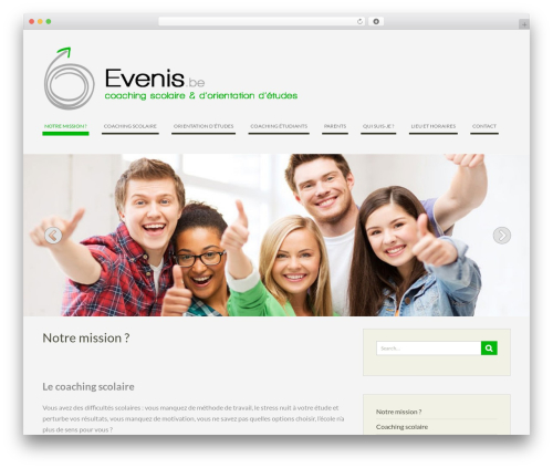 WEN Business free WP theme - evenis.be