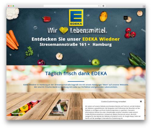 WordPress theme Betheme - edeka-hamburg.de